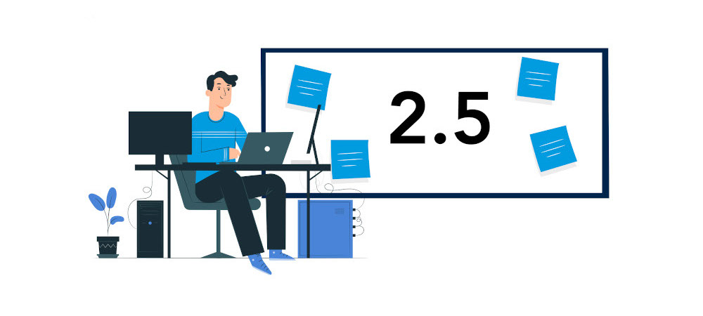 On a scale of 0-5, how would you rate your current level of experience delivering live online learning? Average score: 1.7
